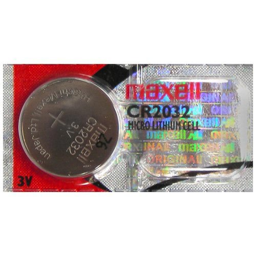 CR2032 Maxell LITHIUM 5 BATTERIES