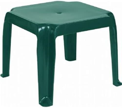 Compamia Sunray Square Resin Patio Side Table