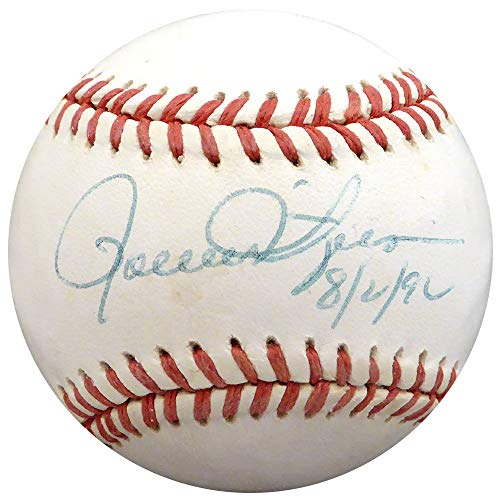 (Rollie Fingers Autographed Official AL Baseball Oakland A's, Milwaukee Brewers Beckett BAS #H10614)