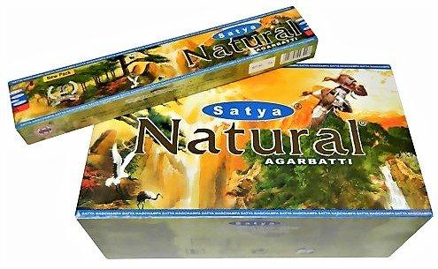 Incenso Satya Natural –  12 confezioni da 15 bastoncini
