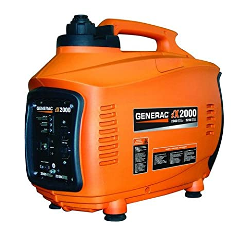 Generac 6719R iX Series Factory-Reconditioned 2,000 Watt Portable Inverter Generator (Portable 2000w Generator)