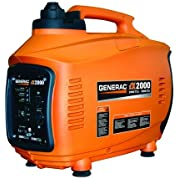 Generac 5793R iX Series 2,000 Watt Portable Inverter Generator (CARB) (Certified Refurbished)
