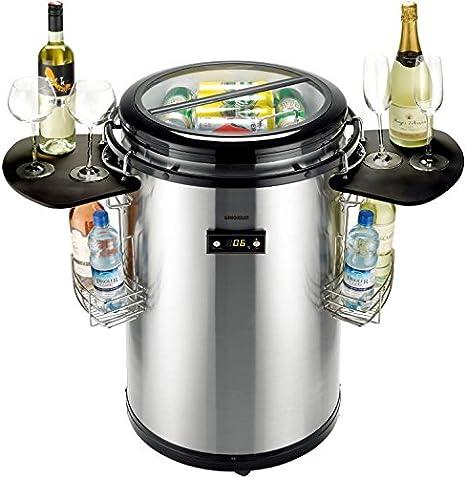 Gino Gelati Party - Nevera portátil con frigorífico: Amazon.es ...