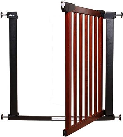 Xing Hua home Valla de Seguridad Valla Protectora Valla de protección de Escalera de Madera Maciza ponche Libre de Valla de protección de Escalera Interior (Color : Brown, Size : 74.5cm): Amazon.es: