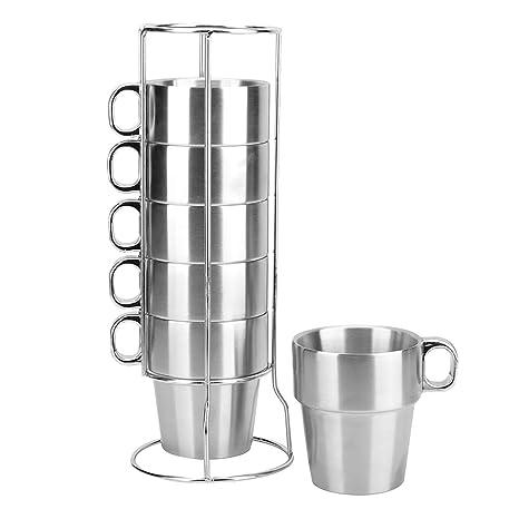 Amazon.com: MyLifeUNIT aislado tazas Tazas de café ...