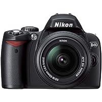 Nikon D40 6.1MP Digital SLR Camera Kit with 18-135mm f/3.5-5.6G ED-IF AF-S DX Zoom-Nikkor Lens