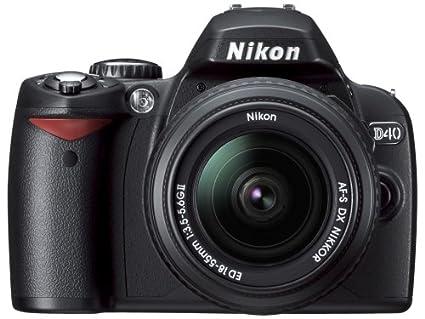 amazon com nikon d40 6 1mp digital slr camera kit with 18 135mm f rh amazon com Nikon D40 Lenses Pictures Taken with Nikon D40
