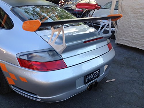 Amazon.com: Porsche 997.2 GT3RS Rear Trunk with Carbon Fiber Wing Spoiler for the 996 Turbo: Automotive
