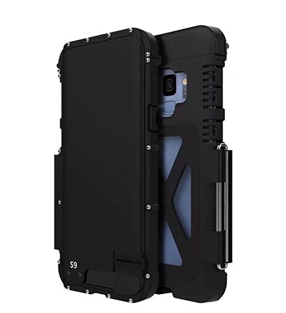huge discount 02dce 1b2e4 Galaxy S8 Plus Case,S8 Plus Aluminum Metal Case,Fusicase 360 Armor King  Stainless Steel Aluminum Case Flip ull Body Armor Hybrid Defender  Shockproof ...