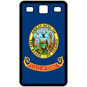 Idaho ID State Flag Black Samsung Galaxy S3 i9300 Cell Phone Case - Cover