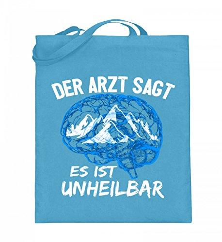 Shirtee B5K04Z7Q_XT003_38cm_42cm_5739 - Bolso de tela de algodón para mujer Azul azul 38cm-42cm Azul Claro