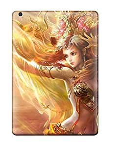 New Style LisaEMurphy Hard Case Cover For Ipad Air- Woman Sorcerer