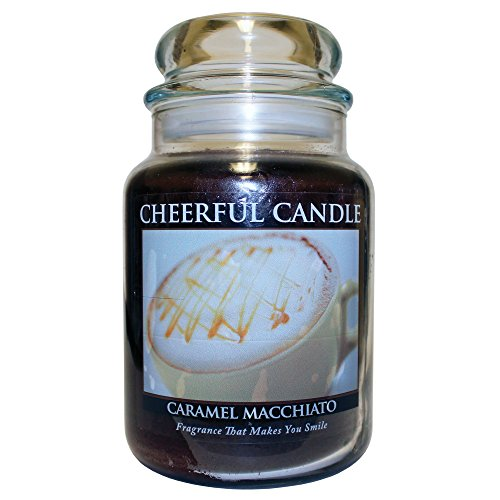 (A Cheerful Giver Caramel Macchiato Jar Candle, 24-Ounce)