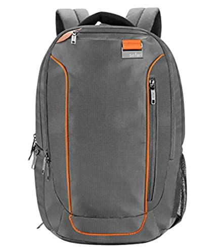 8d90672e9bf3 Safari 31 Ltrs Grey Laptop Backpack (Sprint)  Amazon.in  Bags ...