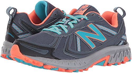 New Balance Women's WT410v5 Cushioning Trail Running Shoe, Dark Grey, 7.5 B US by New Balance (Image #6)