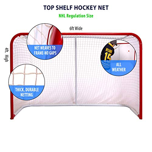 Top Shelf! Street/Roller Hockey Regulation 4' x 6' Goal