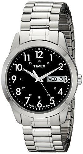 Timex T2M932 Silver Tone Dress Expansion product image