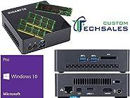 Gigabyte BRIX s Ultra Compact Mini PC (Skylake) GB-BSi7T-6500 i7 512GB SSD 16GB RAM Windows 10 Pro Installed & Configured