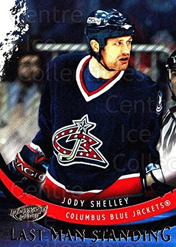 (CI) Jody Shelley Hockey Card 2006-07 UD Power Play Last Man Standing 1 Jody Shelley