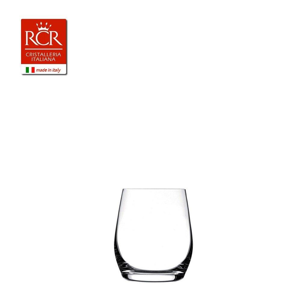 RC2 Corporation Rcr Invino Vasos Dof, Vidrio, Transparente, Juego de 6 Piezas, 35 cl 455480