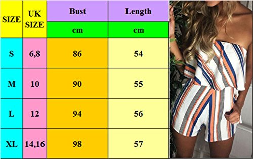 Ladies 16 O Jumpsuit 12 Dress Style UK Size Holiday Shorts Playsuit P 10 6 Summer Beach UK Style Womens Size UK Mini xqn1PnwIU