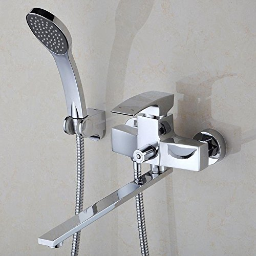 Modische multifunktionale Kupfer dusche Handbrause Temperatur der Dusche