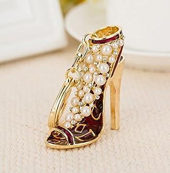 Amazon.com: Tacones altos zapatos, tacones altos Llavero ...