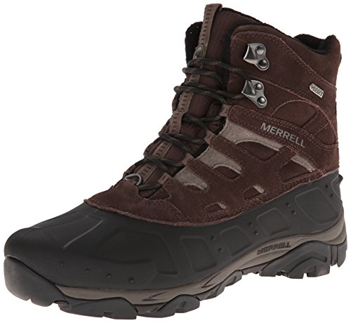 Merrell Men's Moab Polar Waterproof Winter Boot,Espresso,10.5 M US