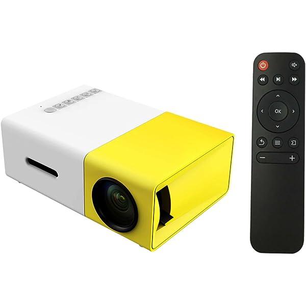 Docooler FW1S YG 300 Proyector LED 1080P Máquina de Proyección con ...