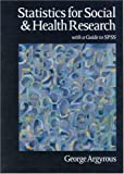 img - for Statistics for Social and Health Research: With a Guide to SPSS book / textbook / text book