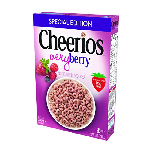 Cheerios Very Berry Naturally Flavoured Cereal Special Edition, 340 Gram
