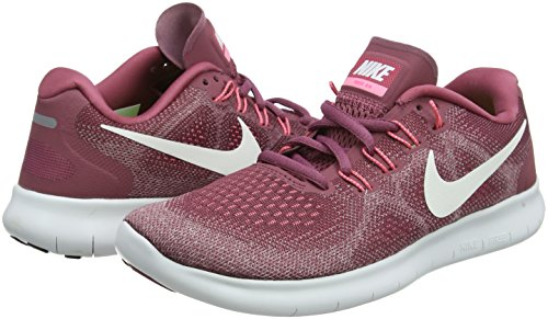 7a9f7925ac08c Nike Free RN 2017 Women's Running Shoes (5.5 M US, Vintage Wine/Off White)