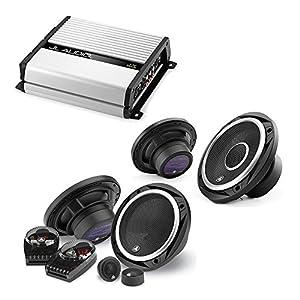 "JL Audio JX400/4D 4-channel car amplifier 70 watts RMS x 4 + C2-650 450W 6.5"" 2-Way Evolution C2 Series Component Car Speakers System +C2-650x 450W 6.5"" 2-Way Evolution C2 Series Coaxial Car Speakers"