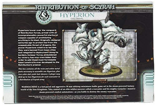Privateer Press - Warmachine - Retribution: Hyperion Colossal Model Kit 4