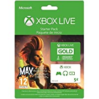 Xbox Live Starter Pack - 3 Mesi + Gift Card 5 euro + Max: The Curse of Brotherhood