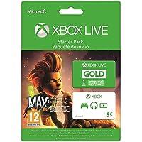 Xbox Live Starter Pack - 3 Mesi + Gift Card 5 Euro + Max: The Curse Of Brotherhood [Importación Italiana]