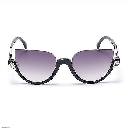 Aszhdfihas Gafas de Sol Semi-sin Montura para Mujer Gafas de ...