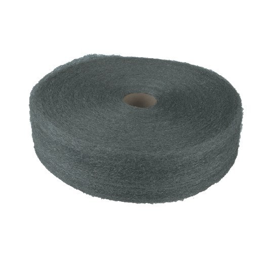 Global Material Technologies GMT 105045 Industrial Quality Steel Wool Reel No.2 Med Coarse- 5 lb. - Case of 6