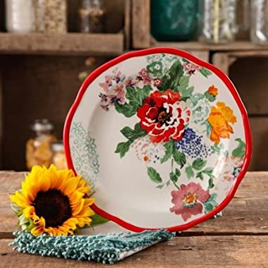 The Pioneer Woman 82710.04R Country Garden 8.5  Decorated Salad Plates, Set of 4
