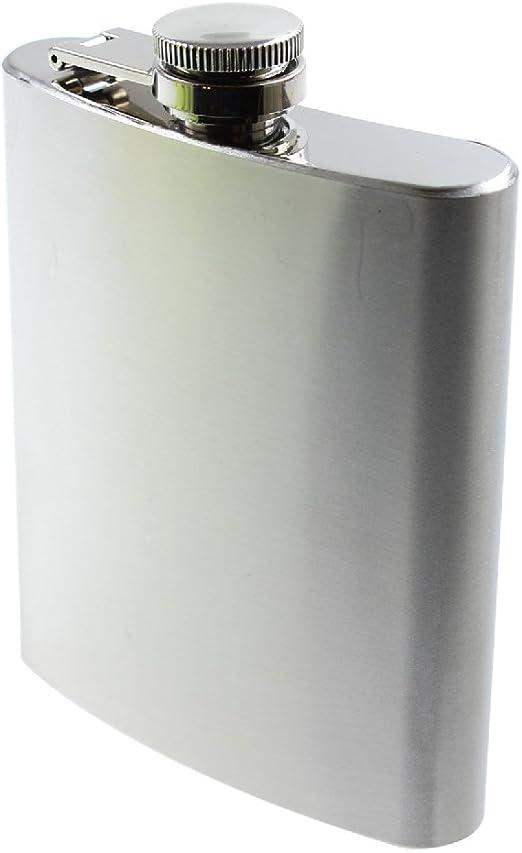 Flachmann 200ml Edelstahl Taschenflasche