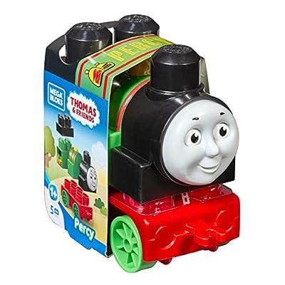 Mega Bloks Thomas & Friends Mailman Percy Building Set (5 Piece): Toys & Games
