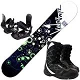 3点セットスノーボード☆ZUMA WAVE-9 金具付き ブーツ付き