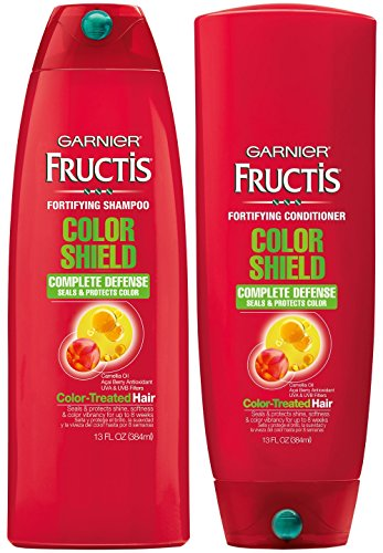 Garnier Fructis Color Shield Shampoo & Conditioner Set, 13 Ounce Each