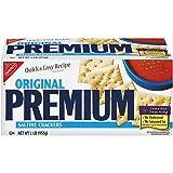 Nabisco Premium Saltine Crackers, Original, 16 oz (Pack 9)