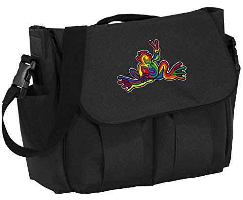 Peace Frogs Diaper Bag Peace Frog Baby Shower Gift for DAD or MOM!