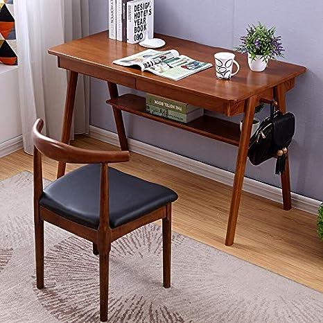 xinrongqu Nordic Massivholz Schreibtisch Schlafzimmer Kleine ...