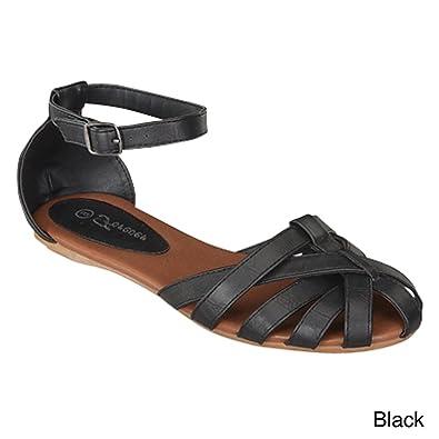 53bbb70e9579e FOREVER Women s Vera-82 Flat Strappy Sandals