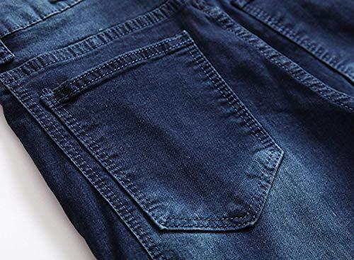 Jeans Uselook Ropa Botín Jeans De Dunkelblau De Corte Estilo Estrecho Hombre Slim Denim De Estilo Denim Jeans Hombre Destruidos Jeans Denim Denim Estilo Estilo Jeans ADELINA Elásticos dvRxn06qq
