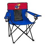 Logo Brands Collegiate Kansas Jayhawks Elite Chair