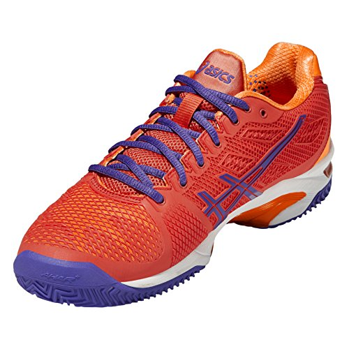Speed Pink 2 Gel Clay Tennisschuhe Asics Damen Solution 40PTwTE